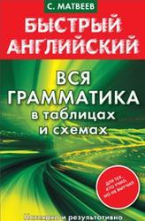 Быстрый английский, Вся грамматика в таблицах и схемах, Матвеев С.А., 2014