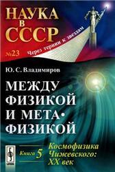 Между физикой и метафизикой, Книга 5, Космофизика Чижевского, XX век, Владимиров Ю.С., 2013