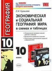 Экономическая и социальная география мира, 10 класс, Курашева Е.М., 2011