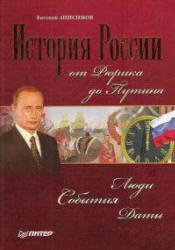 История России от Рюрика до Путина, Люди, События, Даты, Анисимов Е.В., 2007