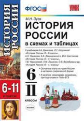 История России в схемах и таблицах, 6-11 класс, Зуев М.Н., 2014