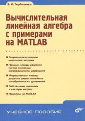 Вычислительная линейная алгебра с примерами на MATLAB, Горбаченко В.И., 2011