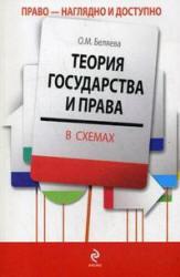 Теория государства и права в схемах, Беляева О.М., 2008