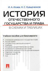 История отечественного государства и права в схемах и таблицах, Исаев И.А., 2013