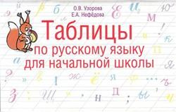 Таблицы по русскому языку для начальной школы, 1-4 класс, Узорова О.В., Нефедова Е.А., 2012