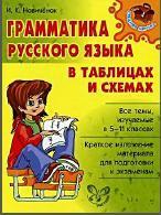 Грамматика русского языка в таблицах и схемах, Hoвичёнoк И.K., 2008