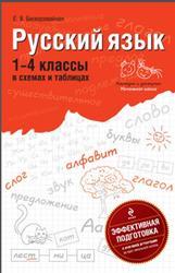 Русский язык, В схемах и таблицах, 1-4 класс, Бескоровайная Е.В., 2011