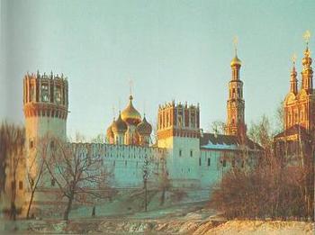 Презентация - Новодевичий монастырь - novodevichy convent