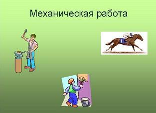 Презентация - Механическая работа