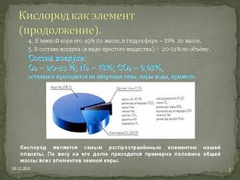 Презентация - Кислород