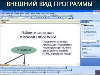 Презентация - Microsoft Office FrontPage - Программа создания Веб-сайтов и управления ими