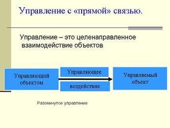 Презентация - Моделирование - Модель процесса управления