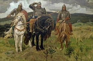 Презентация - Картина Васнецова В.М. «Богатыри»