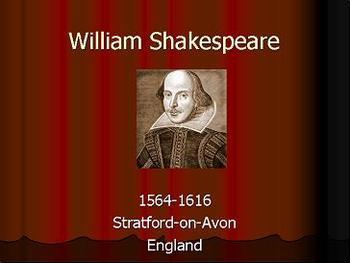Презентация - William Shakespeare