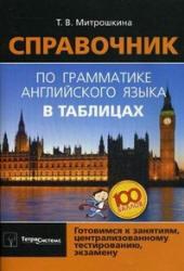 Справочник по грамматике английского языка в таблицах, Митрошкина Т.В., 2011