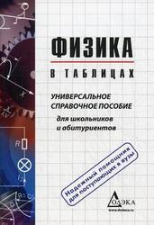 Физика в таблицах, Универсальное справочное пособие, Пец В.Г., 2012