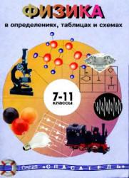 Физика в определениях, таблицах и схемах, 7-11 класс, Справочное пособие, Крот Ю.Е., 2004