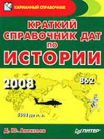 Краткий справочник дат по истории - Алексеев Д.Ю.
